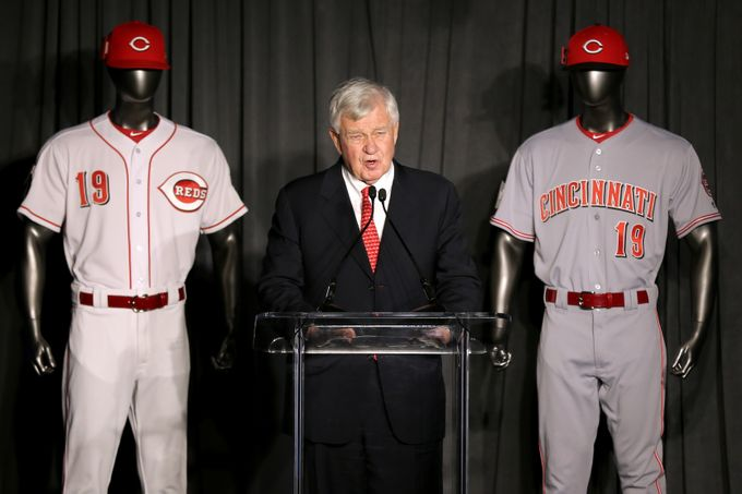 Cincinnati Reds 150th anniversary uniforms